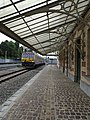 Gare de Watermael - Marquise et train 01.jpg