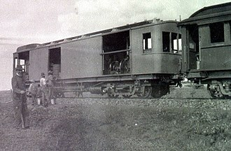 South African gas-electric locomotive - Image: Gas electric locomotive a