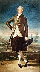 Portret Gaspara Melchora de Jovellanosa