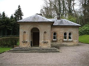 Castle Coole - Gate lodge at the entrance to the estate