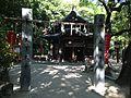 Gate of Mikka Ebisu Shrine in Sumiyoshi Shrine.JPG