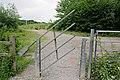 Gate offering access to Bens Lake, Swanwick - geograph.org.uk - 464653.jpg