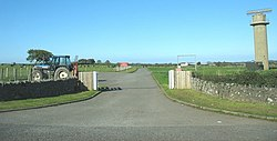 Gate to RAF Mona - geograph.org.uk - 1000651.jpg