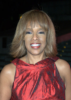 English: Gayle King at the Vanity Fair kickoff...