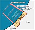 Gazastreifen Karte Fischereigrenze Dez 2012.png