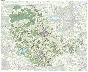 Haaren, North Brabant - Image: Gem Haaren Open Topo
