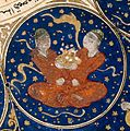 "Gemini - Horoscope from 'The book of birth of Iskandar"" Wellcome L0040144.jpg"