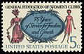 General Federation of Women's Club 5c 1966 issue U.S. stamp.jpg