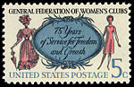 General Federation of Women's Club 5c 1966 issue U.S. stamp.jpg