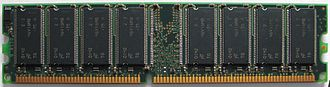 DDR SDRAM - Image: Generic DDR Memory (Xytram)