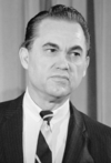 Governador George Wallace do Alabama.