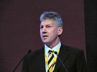 George Lyon (Scottish politician) - Image: George Lyon MEP at Bournemouth 2009