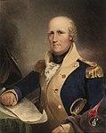 Portret van de Virginia-militie kolonel Clark