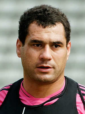 George Smith (rugby union) - At a training session of Stade Français, 2012
