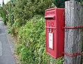 George VI Postbox, Sixpenny Handley - geograph.org.uk - 906218.jpg