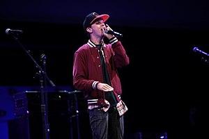 George Watsky - Watsky performing at VidCon 2014.