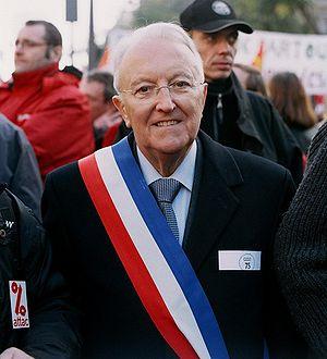 affiche Georges Sarre