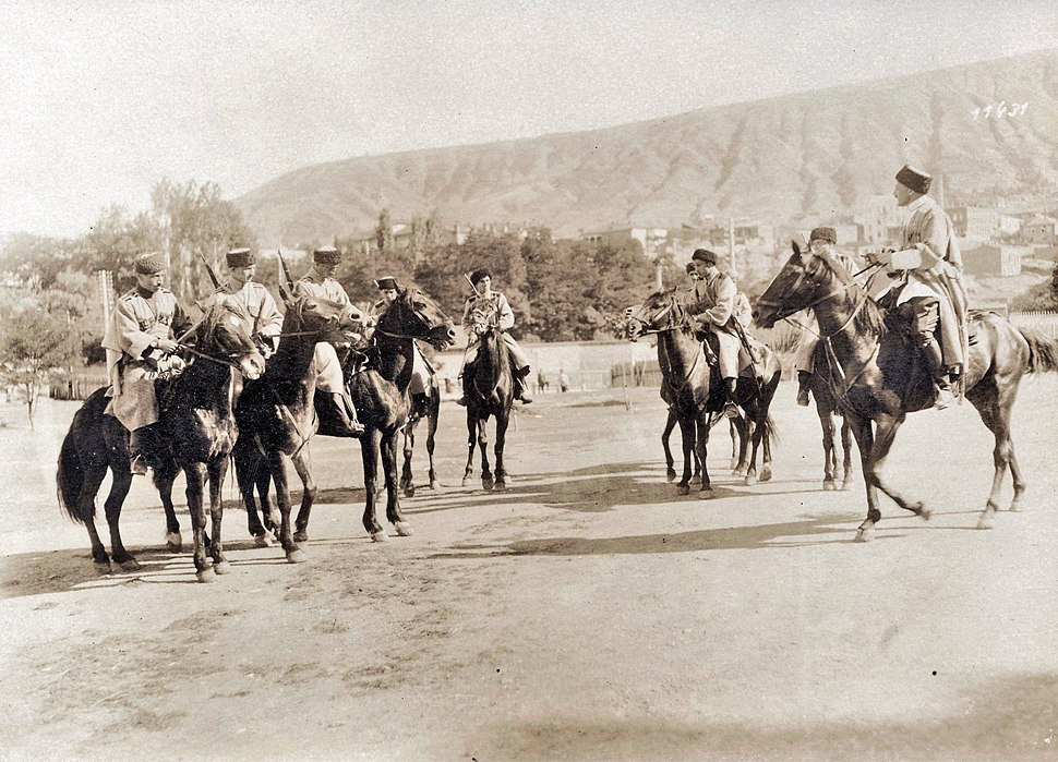 Georgian-cavalry-1918