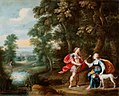 Gerard de la Vallee - Wooded landscape with Cefalus and Procris.jpg