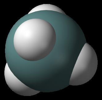 Group 14 hydride - Image: Germane 3D vd W