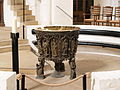 Germany Luebeck Cathedral baptismal font.jpg