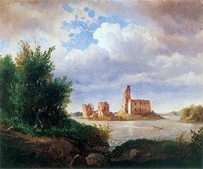 Ruiny Zamku w Trokach