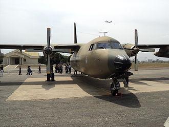 Ghana Air Force -  Ghana's Fokker F27 Friendship
