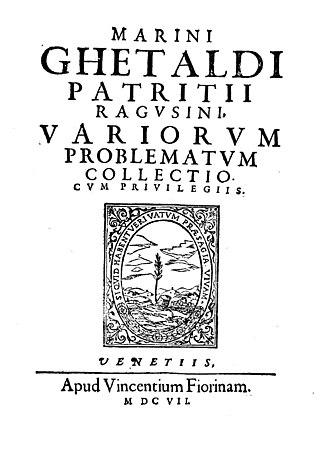 Marino Ghetaldi - Variorum problematum collectio, 1607