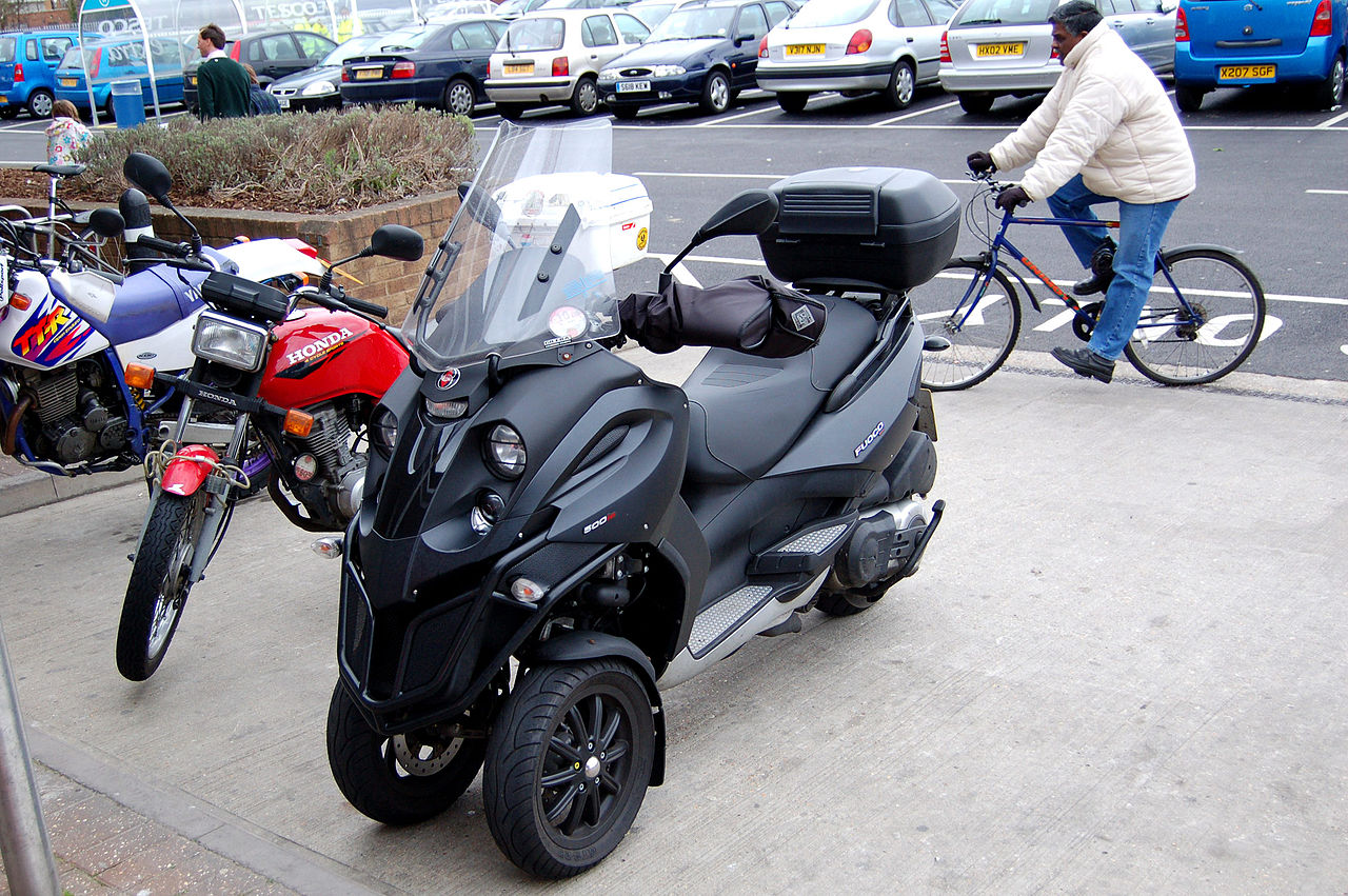 scooter 3 roues yamaha 500