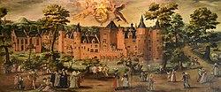 Aegidius van Saen: Het kasteel Egmond aan den Hoef