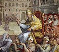 Giorgio vasari, gregorio xi torna a roma da avignone, 1572-73, 07.jpg