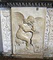 Giovan battista bregno, altare del corpus domini, 1505, 06 angelo.JPG