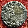 Giovanni hamerani, medaglia di innocenzo XII, 1694, san pietro, arg.JPG