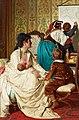 """Giuseppe Sciuti, """"Le gioie della buona mamma.jpg"""