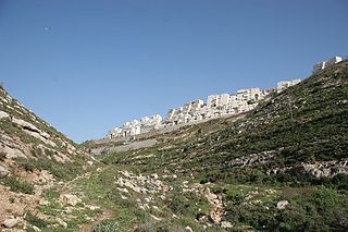 Givat Zeev Israeli settlement in the West Bank