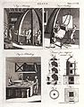 Glass; three views inside a plate glass factory. Engraving b Wellcome V0024053ER.jpg