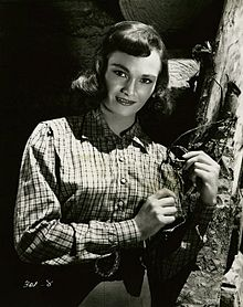 Gloria Talbott a Northern Patrol (1953)