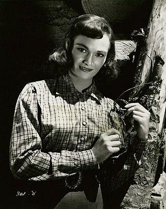 Gloria Talbott - publicity still for the film Northern Patrol (1953)
