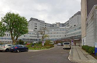 Rigshospitalet Glostrup - Rigshospitalet Glostrup main entrance