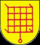 Das Wappen von Glücksburg (Ostsee)