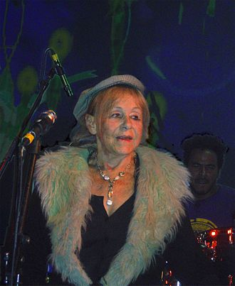 Gilli Smyth - Smyth performing with Gong in Tel Aviv, 2009