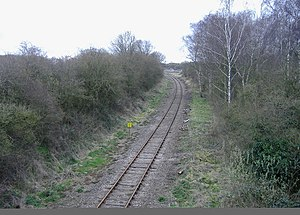 Sharpness branch line - The freight-only line to Sharpness