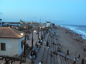 Gopalpur, Odisha - Entrance to Gopalpur Beach