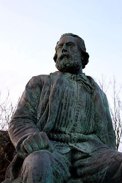 Statue de Jean-François Millet (copie de Louis Derbré)