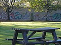 Graffiti at Earl Richards Road North campus (2) - geograph.org.uk - 1407489.jpg