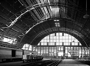 Grand Central Station (Chicago) - The train shed of Grand Central Station