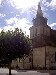 The church in Le Grand-Pressigny