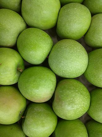 Granny Smith - Granny Smith are distinctive in being bright green when ripe