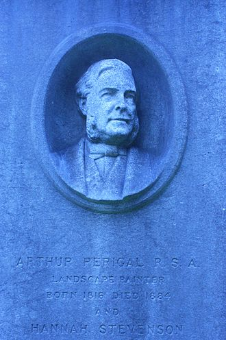 Arthur Perigal - Grave of Arthur Perigal, Dean Cemetery