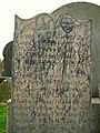 Gravestone, Whitechurch Cemetery - geograph.org.uk - 1183040.jpg